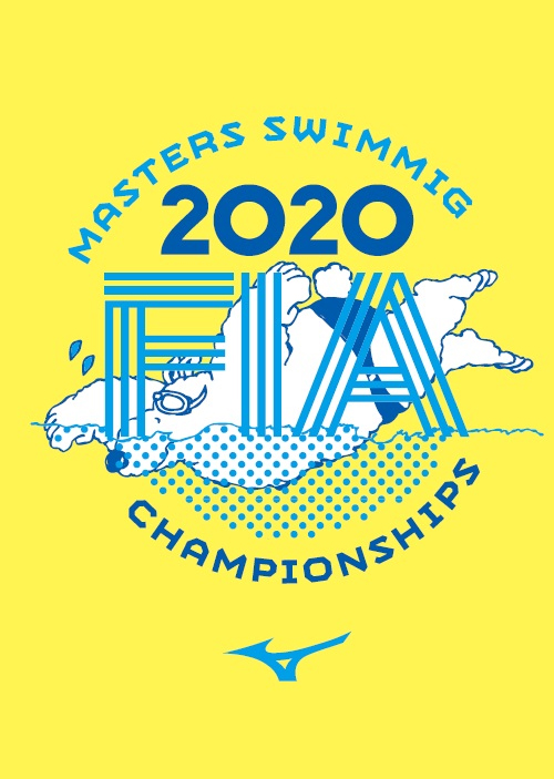 FIAマスターズスイミング選手権大会2020ロゴ
